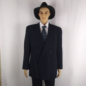 Hugo Boss Al Capone navy blazer men's size 42R.
